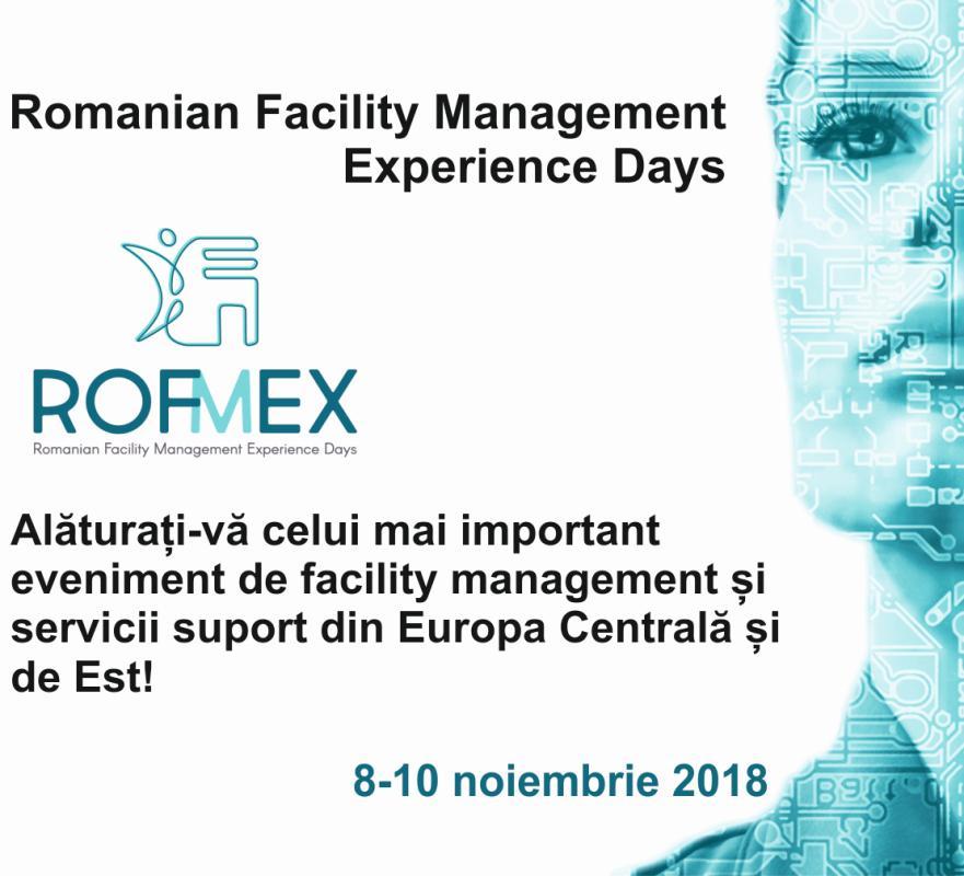 Totul despre workplace, property și facility management  Începe ROFMEX 2018, cel mai important eveniment de profil din Europa Centrală și de Est