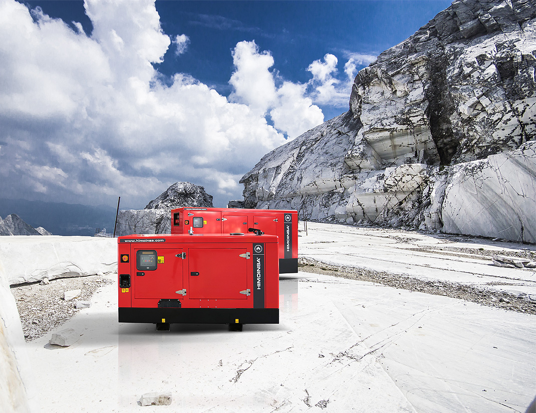Generator sets able to withstand the 2000-hour salt spray