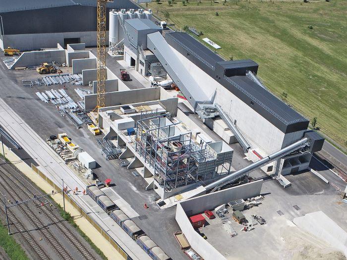 SBM concrete and handling technology at BGO in western Switzerland
