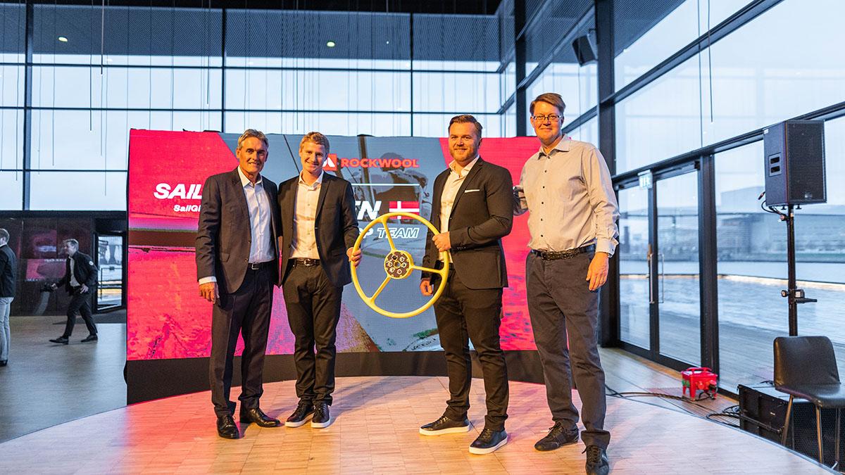 ROCKWOOL, sponsor principal pentru Danemarca in concursul de navigatie SailGP