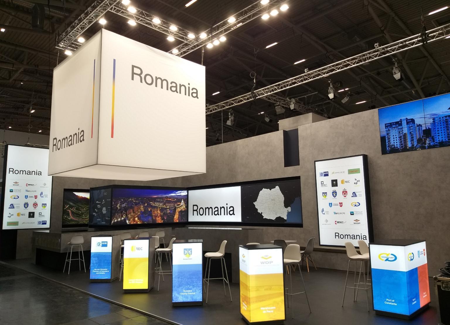 Romania pentru a opta oara la EXPO REAL München