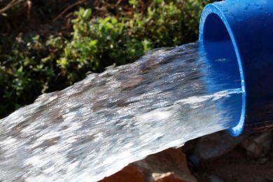 Teava PE albastra monostrat