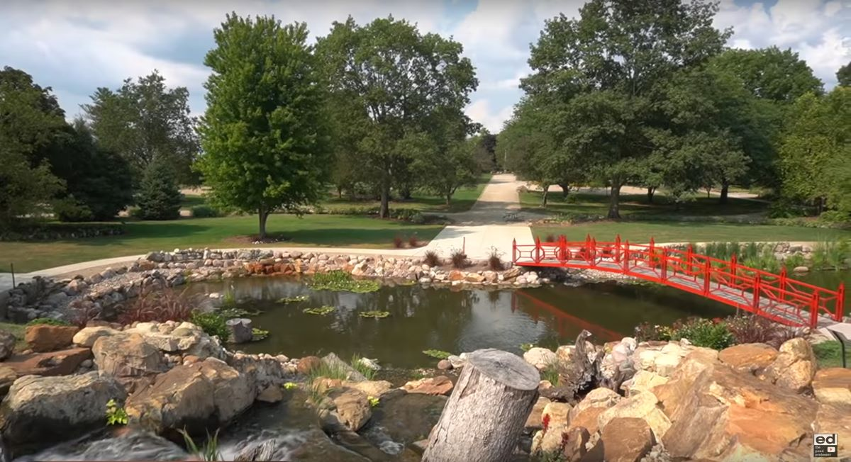 Tsurumi B Series pumps integral to Aquascape's overhaul of a 1-acre pond at the Mabery Gelvin Botanical Gardens in Illinois