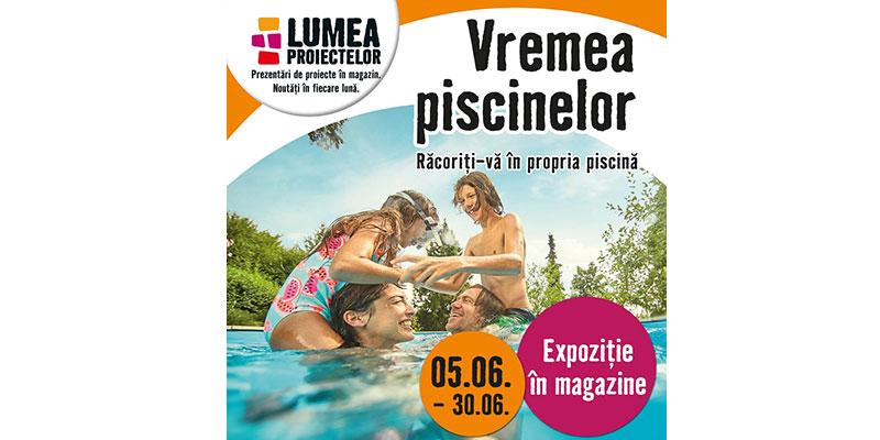 Vremea piscinelor – tema lunii iunie la HORNBACH