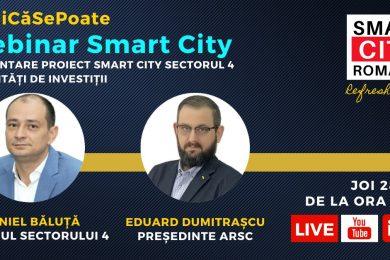 Webinar Smart City_Cât de Smart este Sectorul 4