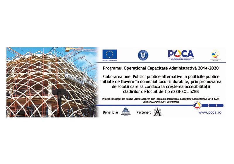 APMCR anunță finalizarea proiectului ID SIPOCA/SMIS2014: 302/110058