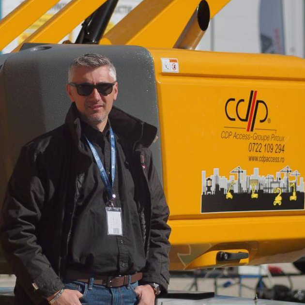 Haulotte Poland delivers first SIGMA16 to CDP Access Romania