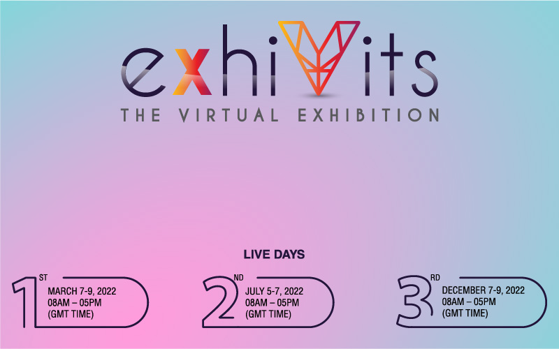 exhiVits Redefines, Global Virtual Exhibition Covering Multiple Industries Thrice a year