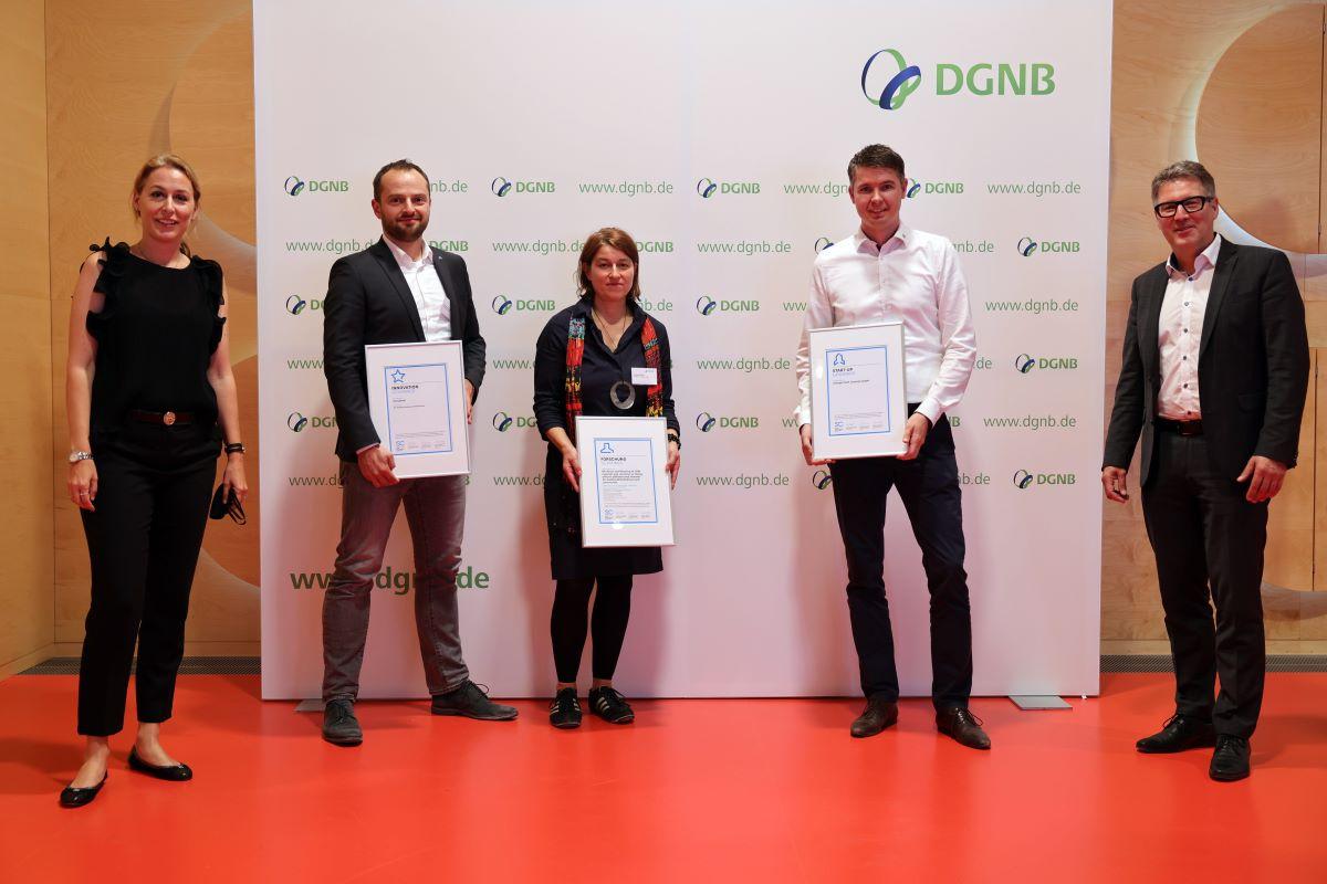 Bewerbungen für DGNB Sustainability Challenge 2021 ab sofort möglich