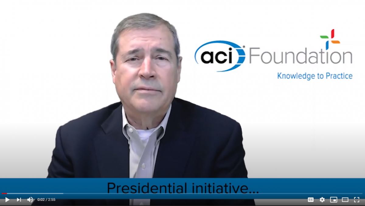 ACI PRESIDENT ANNOUNCES $1 MILLION FUNDRAISING CHALLENGE