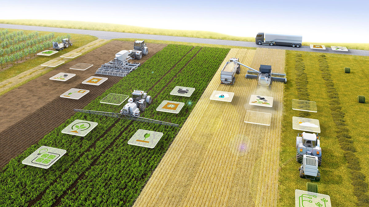 Lucreaza in agricultura #LikeABosch: precizie prin intermediul conectivitatii Bosch la Agritechnica 2019