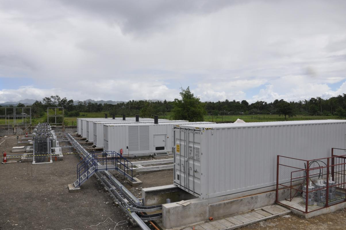 10 MW to cover surges in power demand on the Philippine island of Mindanao