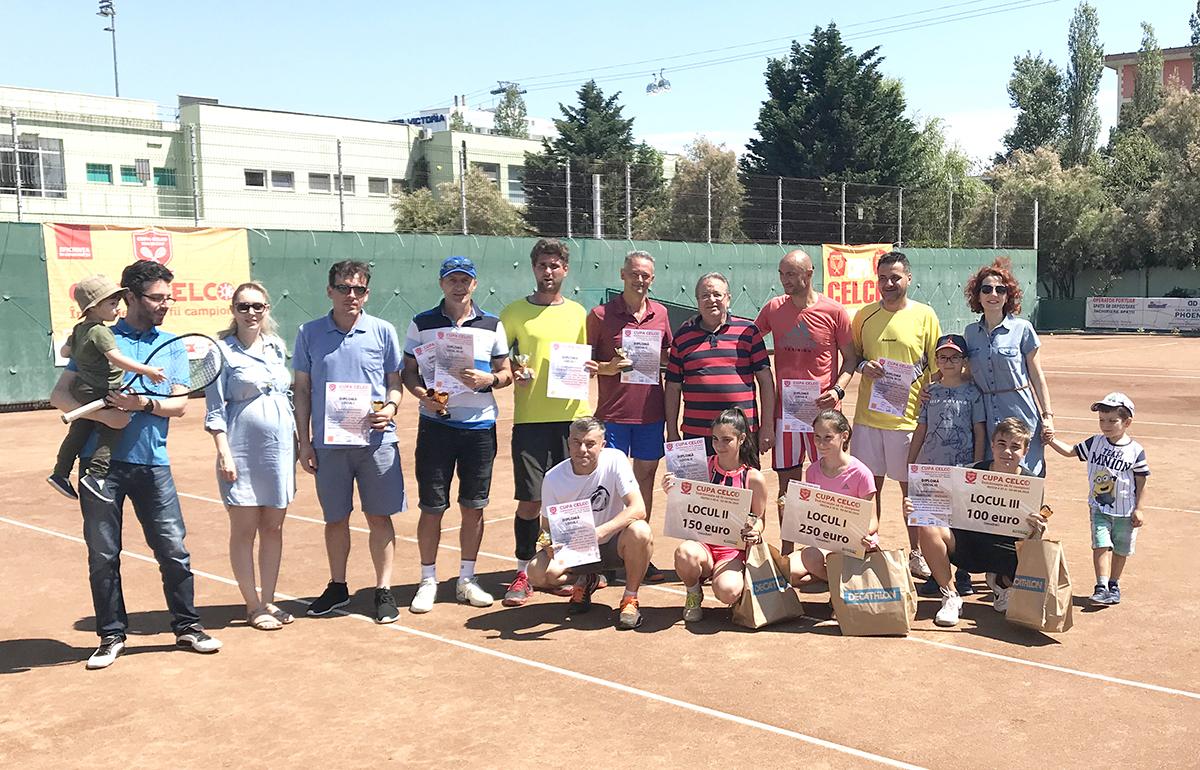 A 11a editie a Cupei CELCO de tenis de camp s-a incheiat