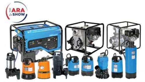 Tsurumi Pump to display rental equipment strength at The ARA Show 2021