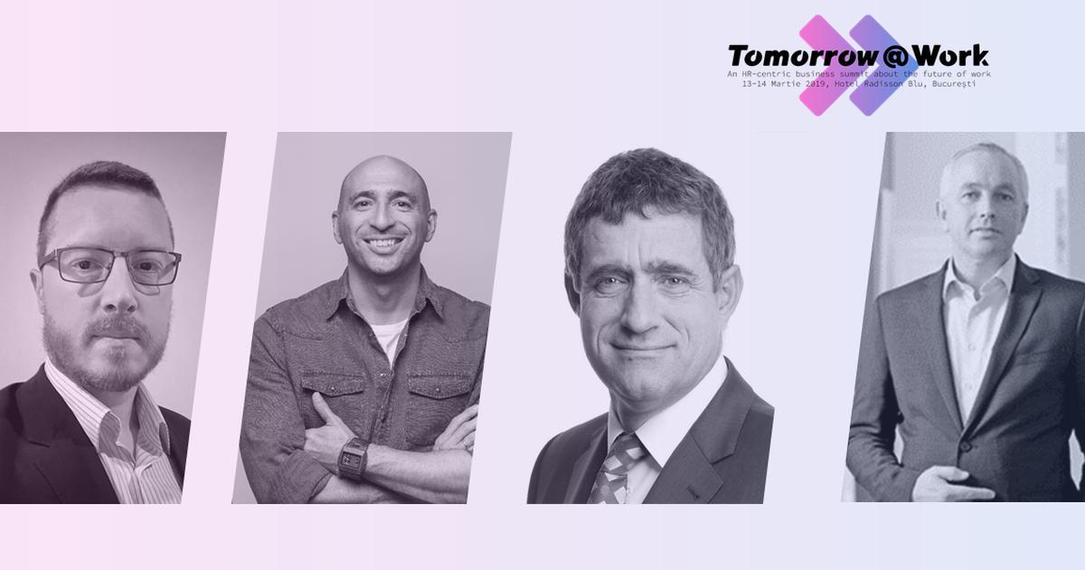 Cine sunt primii speakeri straini confirmati la Tomorrow@Work?