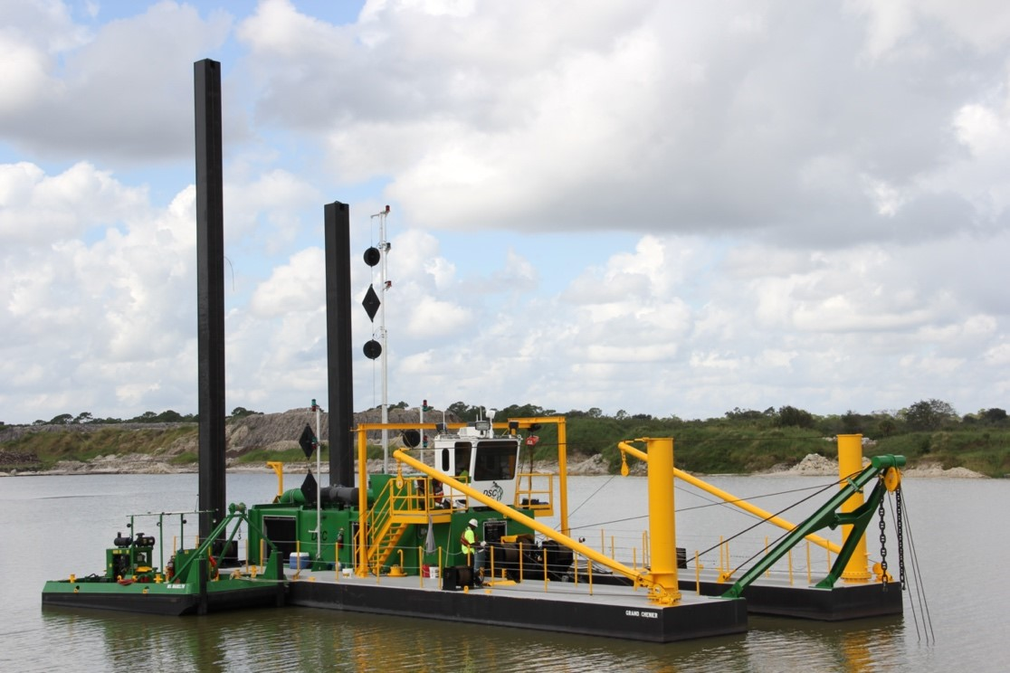 Long standing client Magnolia Dredge and Dock highlights DSC Dredge's commitment to innovation, customer service, and its fleet of dredges