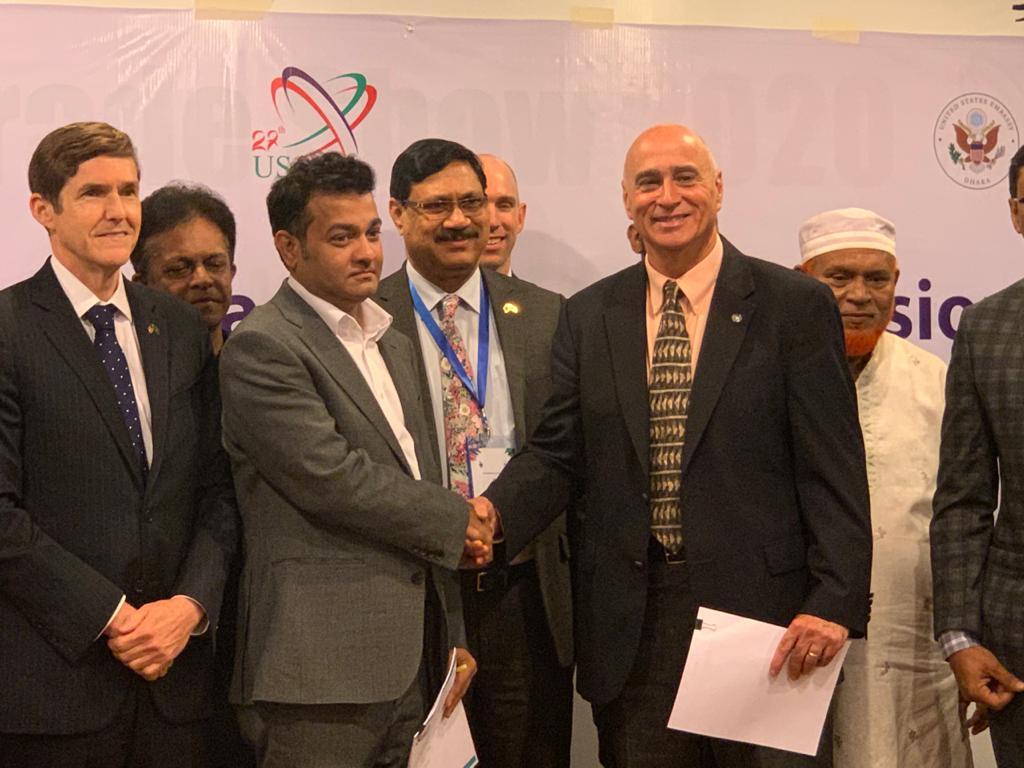 DSC Dredge's Charles Sinunu represents US at Indo – Pacific Economic Vision Seminar in Bangladesh